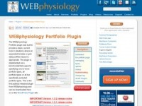 WEBphysiology WordPress Portfolio Plugin – FREE